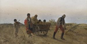 Streitt Franciszek, CYGANIE W DRODZE, 1877