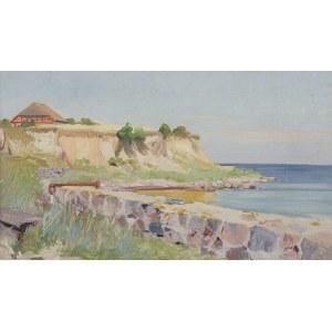 Wywiórski Michał Gorstkin, ZATOKA MORSKA Z RÓŻOWYM DOMEM, 1903-1906