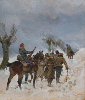 Kossak Jerzy, KONWÓJ BOLSZEWICKICH JEŃCÓW