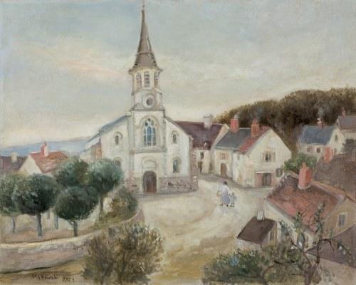 Makowski Tadeusz, PEJZAŻ Z LA COMELLE, 1923