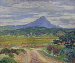Peske Jean, WIDOK NA SZCZYT CANIGOU, 1922