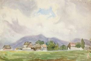 Władysław Serafin (1905 Kraków – 1988 tamże), Wioska u podnóża gór