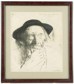 Leon Wyczółkowski (1852 Huta Miastkowska k. Garwolina - 1936 Warszawa), Szymon Tatar, ok. 1947r.