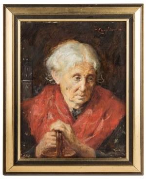 MN (I poł. XX w.), Portret starszej pani