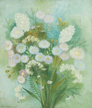Alicja Hohermann (1902 Warszwa - ok.1943 obóz w Treblince), Bukiet kwiatów, 1938 r.