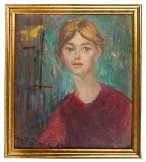 Maria Komierowska (1913-1972), Portret kobiety, 1967 r.