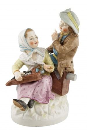 Para dzieci, Berlin, ok. 1830-40 r.