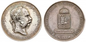 Austria  Hungary Medal (1898). Medals from the time of Emperor Franz Joseph I(1848-1916). Silver medal undated ...