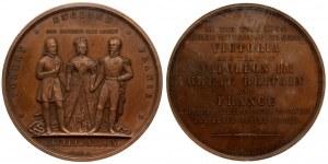 France Medal 1854 Crimean War. Napoleon III(1852-1870). Commemorative and Prize Medals. Victoria...