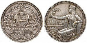 Lithuania Medal 1930 Vytautas the Great Lithuanian Agriculture and Industry Exhibition in Kaunas...
