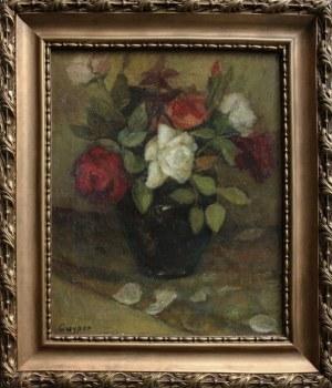 Cuyper, Róże w wazonie