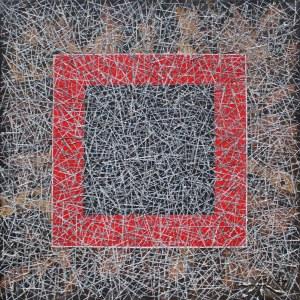 Aleksander Roszkowski, Czerwony kwadrat na szarym tle