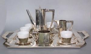 Serwis kawowy art déco (Austria, Wiedeń, przed 1922)