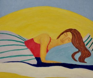 Dominika Makowska, Śpiąca, 2008