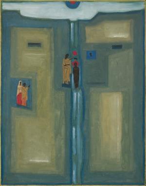 Nowosielski Jerzy, JORDAN (Chrzest Jezusa Chrystusa w Jordanie), 196