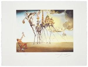 Salvador Dali (1904-1989), La trentation de Saint-Antoine