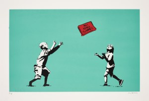 Banksy (Ur.1974), Not ball games, 2019