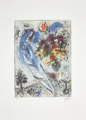 Marc Chagall (1887-1985), granolitografia / 45 x 33 cm [wymiary odbitki]