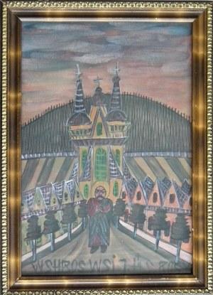 Nikifor Krynicki(1895-1968) ,Święty