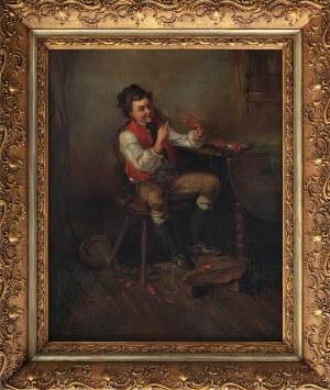 Hermann Kern(1838-1912),Obierający raki,1901