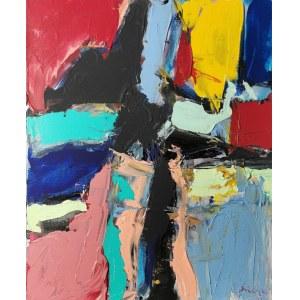 Tadeusz ŚWINIARSKI (ur. 1961), Kompozycja abstrakcyjna, 2013