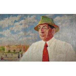 Tadeusz WAŚKOWSKI (1883-1960), Portret aktora Leona Wyrwicza