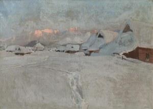Stanisław GAŁEK (1876-1961), Zima w górach
