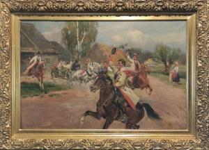 Jerzy KOSSAK (1886-1955), Wesele krakowskie, 1926