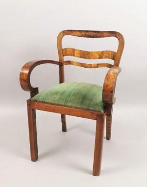 Fotel do stołu art déco