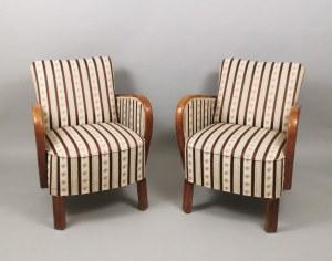 Para foteli w stylu art déco