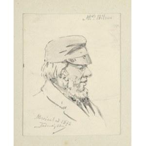 Tadeusz Rybkowski (1848-1926), Mężczyzna w czapce, 1878
