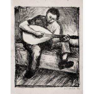 Stefan Suberlak (1928-1994), Gitarzysta, 1951
