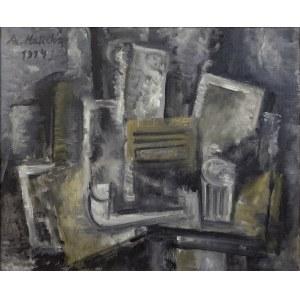 Alicja Halicka (1894-1975), Martwa natura kubistyczna, 1914