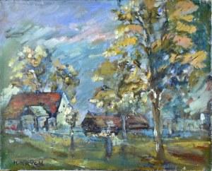 Henryk Krych (1905-1980), Pejzaż wiejski