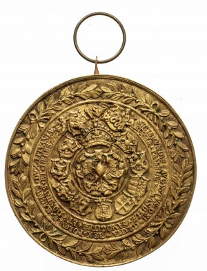 Polska, medal z Zygmuntem Augustem