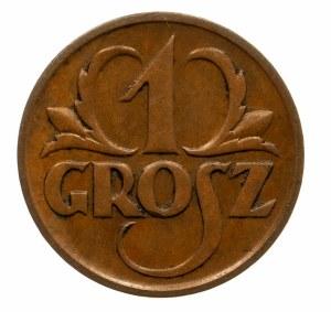 Polska, II Rzeczpospolita 1918-1939, 1 grosz 1925, Warszawa.