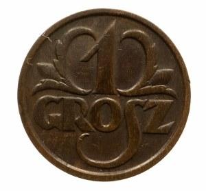 Polska, II Rzeczpospolita 1918-1939, 1 grosz 1928, Warszawa.