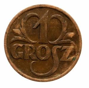 Polska, II Rzeczpospolita 1918-1939, 1 grosz 1930, Warszawa.