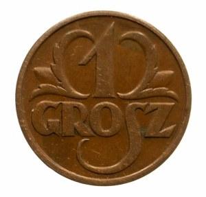 Polska, II Rzeczpospolita 1918-1939, 1 grosz 1931, Warszawa.