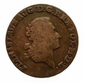 Polska, Stanisław August Poniatowski 1764-1795, trojak 1788 E.B., Warszawa.