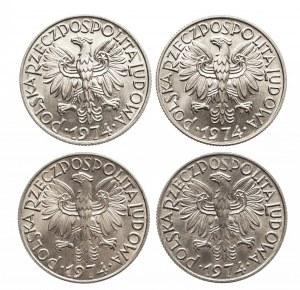 Polska, PRL 1944-1989, 5 złotych 1974