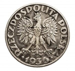 Polska, II Rzeczpospolita 1918-1939, 2 złote Żagiel 1936, Warszawa.