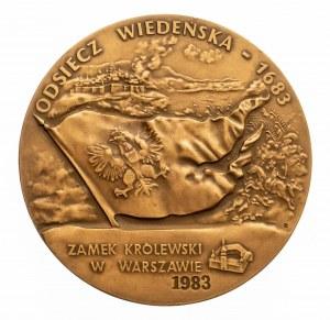 PRL, medal z okazji 200-lecia Odsieczy Wiedeńskiej - Jan III Sobieski.