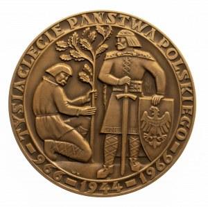 medal Tysiąclecie Państwa Polskiego, 1966, Wacław Kowalik.