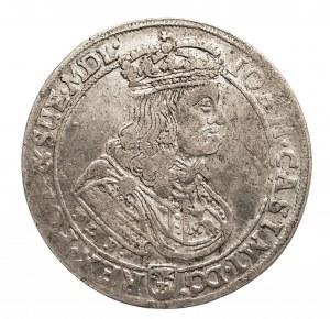 Polska, Jan II Kazimierz Waza 1649-1668, ort 1668. Hybryda.