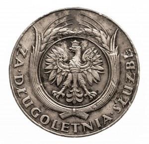 II RP (1918–1939), Srebrny Medal za Długoletnią Służbę (XX lat) od 1938, Warszawa.