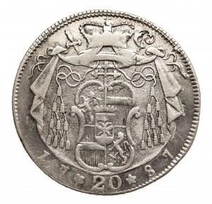 Austria, Salzburg 20 kreuzer 1787 M, Hieronymus Graf Colloredo 1772-1803.