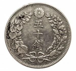 Japonia, Matsuhito 1867-1912, 50 sen, rok 31 (1898)