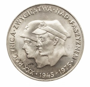 Polska, PRL 1944-1989, 200 złotych 1975, XXX rpcznica zwycięstwa nad faszyzmam
