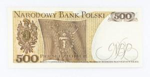 Polska, PRL 1944 - 1989, 500 ZŁOTYCH 16.12.1974, seria AA.